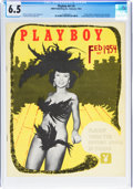 Magazines:Miscellaneous, Playboy #3 (HMH Publishing, 1954) CGC FN+ 6.5 Off-white to white pages....