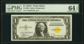 Fr. 2306 $1 1935A North Africa Silver Certificate. PMG Choice Uncirculated 64 EPQ