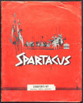 """Movie Posters:Action, Spartacus (Universal International, 1960). Fine/Very Fine. Presskit (12"""" X 15"""") with Photos (5) (8"""" X 10"""") & Press Material...."""