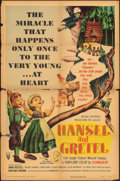 """Movie Posters:Animation, Hansel and Gretel & Other Lot (RKO, 1954). Folded, Overall: Good/Very Good. One Sheet (27"""" X 41"""") & Partial Three Sheet (41""""... (Total: 2 Items)"""