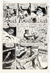 Marie Severin and Herb Trimpe Tales to Astonish #95 Story Page 2 Original Art (Marvel Comics, 1967)