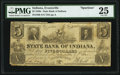 Obsoletes By State:Indiana, Evansville, IN- State Bank of Indiana $5 Oct. 7, 1841 S60 Wolka 200-5 Spurious Issue PMG Very Fine 25.. ...