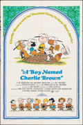"""Movie Posters:Animation, A Boy Named Charlie Brown (National General, 1969). Folded, Fine+. One Sheet (27"""" X 41"""") Charles Schulz Artwork. Animation...."""