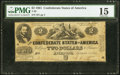 Confederate Notes:1861 Issues, T38 $2 1861 PF-1 Cr. 286 PMG Choice Fine 15.. ...