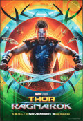 "Movie Posters:Action, Thor: Ragnarok (Walt Disney Studios, 2017). Rolled, Near Mint. Subway (48"" X 70"") SS Advance, Thor Style. Action.. ..."
