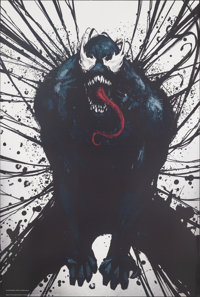"""Venom (Columbia, 2018). Rolled, Near Mint. Bus Shelter (48"""" X 72"""")SS Advance. Action"""