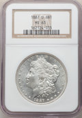 Morgan Dollars: , 1887-O $1 MS63 NGC. NGC Census: (4666/1992). PCGS Population: (4825/3405). CDN: $120 Whsle. Bid for NGC/PCGS MS63. Mintage ...