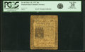 Colonial Notes:Pennsylvania, Pennsylvania March 10, 1757 20s PCGS Apparent Very Fine 20.. ...