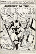 Original Comic Art:Splash Pages, John Buscema, Don Perlin et Vince Colletta Thor#212 Planche de Titre 1 (Marvel, 1973)....