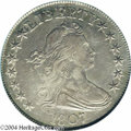 Early Half Dollars: , 1807 50C Draped Bust AU53 PCGS. O-110a, R.3. A ...