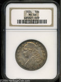 Bust Half Dollars: , 1834 50C Large Date, Large Letters MS66 NGC. O-102, R.1. ...