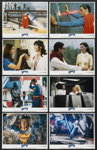 """Superman III (Warner Brothers, 1983). Lobby Card Set of 8 (11"""" X 14""""). Action.... (Total: 8 Items)"""