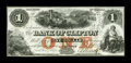 Canadian Currency: , Clifton, Province of Canada- Bank of Clifton $1 Oct. 1, 1859 Ch.125-10-04-02. ...