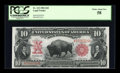 Large Size:Legal Tender Notes, Fr. 115 $10 1901 Legal Tender PCGS Choice About New 58....