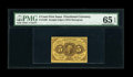 Fractional Currency:First Issue, Fr. 1230 5c First Issue PMG Gem Uncirculated 65 EPQ....