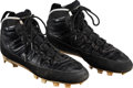 Basketball Collectibles:Others, 1994 Michael Jordan Game Worn Birmingham Barons Air Jordan Cleats....