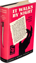 Books:Mystery & Detective Fiction, John Dickson Carr. It Walks by Night. New York: Harper & Brothers, 1930. First edition of the author's first novel, ...