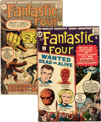 Fantastic Four #5-8 Group (Marvel, 1962) Condition: Average VG.... (Total: 4 Comic Books)