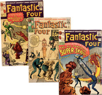 Fantastic Four #13-20 Group (Marvel, 1963) Condition: Average VG+.... (Total: 8 Comic Books)