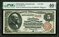 National Bank Notes:Pennsylvania, Philadelphia, PA - $5 1882 Brown Back Fr. 477 The Franklin National Bank Ch. # 5459 PMG Extremely Fine 40 EPQ.. ...