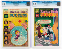 Richie Rich Success Stories #58 and 61 CGC-Graded File Copies Group (Harvey, 1974-75) CGC NM/MT 9.8.... (Total: 2 Comic...