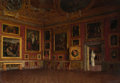 Paintings, Mario Romani (Italian, 19th-20th century). Sala di Saturno, Pitti Palace, Florence, Italy. Oil on canvas . 30-1/2 x 43-1...
