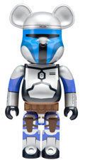 Collectible, BE@RBRICK X Lucas Films. Jango Fett 1000%, 2016. Painted cast resin. 28 x 13 x 9 inches (71.1 x 33 x 22.9 cm). No. 791. ...