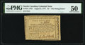 Colonial Notes:North Carolina, North Carolina August 8, 1778 $5 The Rising States PMG About Uncirculated 50.. ...