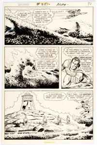 Curt Swan and Murphy Anderson Superman #251 Story Page 9 Original Art (DC, 1972)