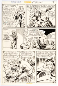 Curt Swan and Murphy Anderson Action Comic #405 Story Page 14 Original Art (DC, 1971)