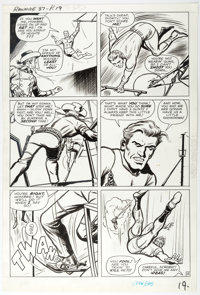 Dick Ayers The Rawhide Kid #37 Story Page 15 Original Art (Marvel Comics, 1963)