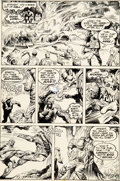 Original Comic Art:Panel Pages, Nestor Redondo Swamp Thing #14 Story Page 17 Original Art (DC, 1975)....
