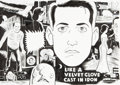 Original Comic Art:Covers, Daniel Clowes Like a Velvet Glove Cast in Iron Japanese Release Wraparound Cover Original Art (Presspop Inc., 2005...