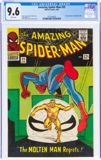 The Amazing Spider-Man #35 (Marvel, 1966) CGC NM+ 9.6 White pages