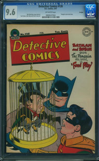 Detective Comics #120 - HIGHEST GRADED TWILIGHT PEDIGREE (DC, 1947) CGC NM+ 9.6 Off-white pages