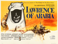 "Lawrence of Arabia (Columbia, 1962). Fine/Very Fine on Linen. British Quad (30"" X 40"")"