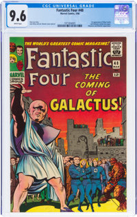 Fantastic Four #48 (Marvel, 1966) CGC NM+ 9.6 White pages