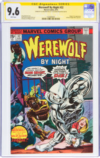 Werewolf by Night #32 Signature Series (Marvel, 1975) CGC NM+ 9.6 White pages
