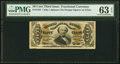 Fractional Currency:Third Issue, Fr. 1324 50¢ Third Issue Spinner PMG Choice Uncirculated 63 EPQ.. ...