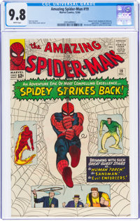 The Amazing Spider-Man #19 (Marvel, 1964) CGC NM/MT 9.8 White pages