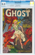 Golden Age (1938-1955):Horror, Ghost #4 Aurora Pedigree (Fiction House, 1952) CGC VF 8.0 Off-white to white pages....