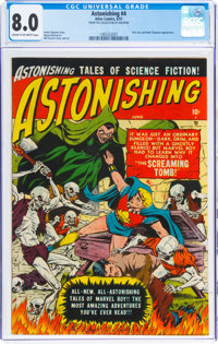 Astonishing #4 (Atlas, 1951) CGC VF 8.0 Cream to off-white pages