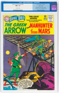 Silver Age (1956-1969):Superhero, The Brave and the Bold #50 Green Arrow and Martian Manhunter - Pacific Coast Pedigree (DC, 1963) CGC NM+ 9.6 Off-white pages....