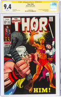 Silver Age (1956-1969):Superhero, Thor #165 Signature Series - Stan Lee (Marvel, 1969) CGC NM 9.4 White pages....