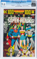 Bronze Age (1970-1979):Superhero, DC 100 Page Super Spectacular #6 Rocky Mountain Pedigree (DC, 1971) CGC NM+ 9.6 White pages....