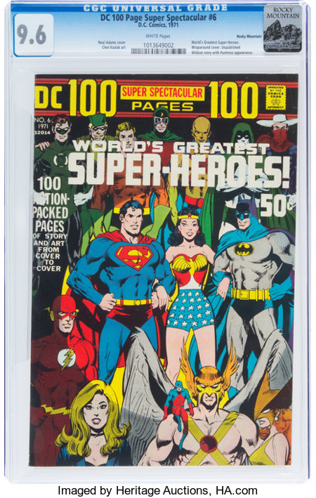 DC 100 Page Super Spectacular #6 Rocky Mountain Pedigree (DC, 1971) CGC NM+ 9.6 White pages....