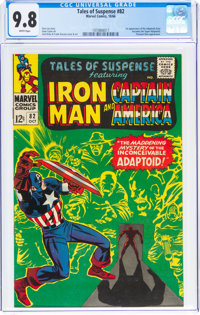 Tales of Suspense #82 (Marvel, 1966) CGC NM/MT 9.8 White pages