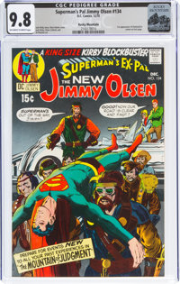 Superman's Pal Jimmy Olsen #134 Rocky Mountain Pedigree (DC, 1970) CGC NM/MT 9.8 Off-white to white pages