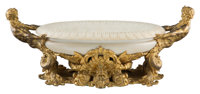 A Gilt Bronze Mounted Marble Centerbowl, 20th century Attributed as retailed by Edward F. Caldwell & Co., New York...