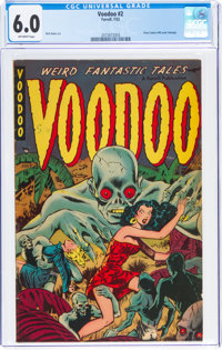 Voodoo #2 (Farrell, 1952) CGC FN 6.0 Off-white pages